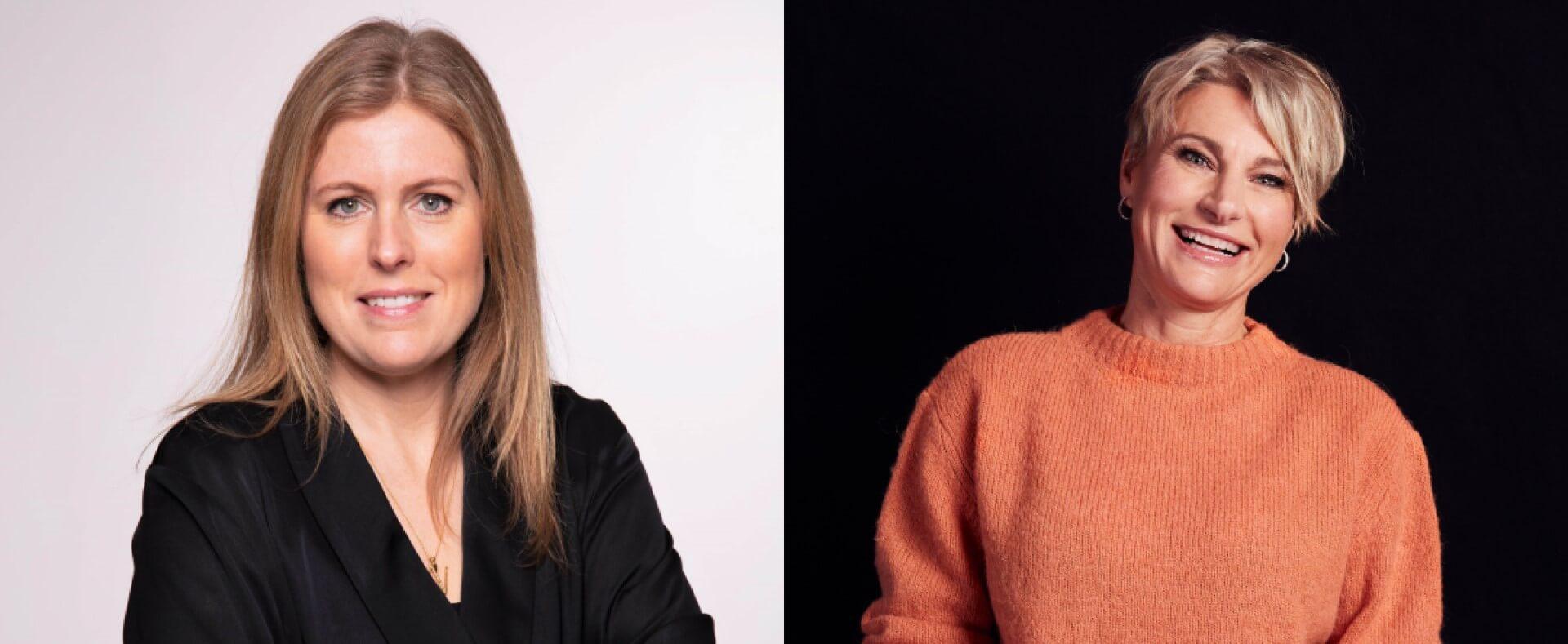 Karin Mineur och Jeanette Anttila
