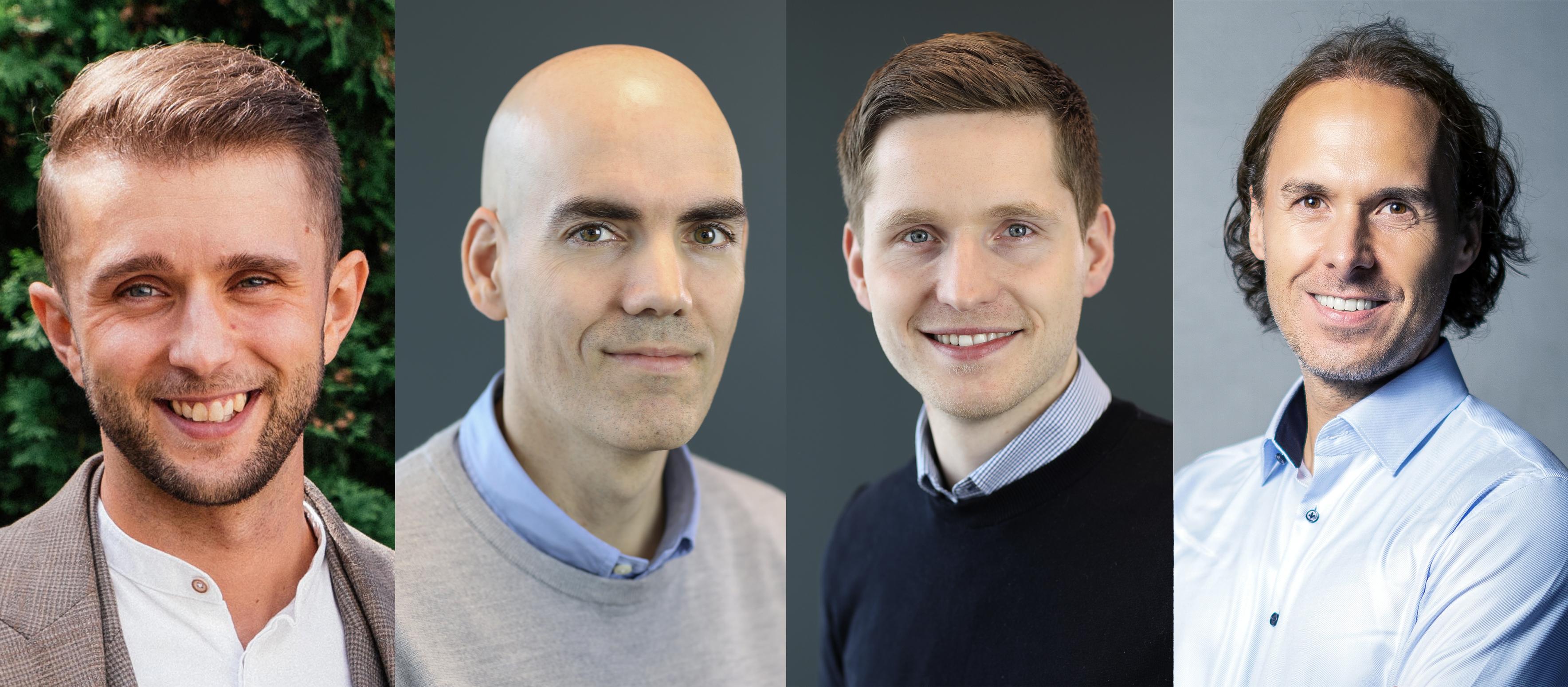 Antons Dolgopolovs, Andreas Landmark, Erik Hagen Nymoen og Stephan Mertesdorf